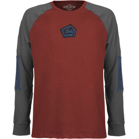 E9 Nino Light Fleece Men, russet